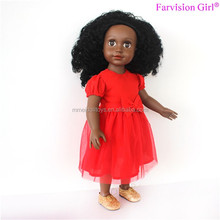 African Doll Free Mold 18 inch realistic baby doll