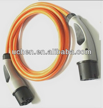 16A Chevrolet Volt Charging Plug /Type 1 Female to Type 2 Male Plug