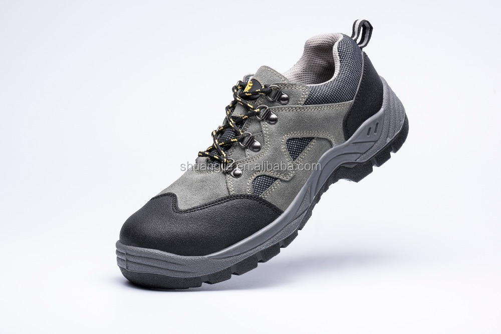 Work Time Suede Leather PU Sole Sporty Composited Toe Safety Shoes EN 20345 SBP T2999