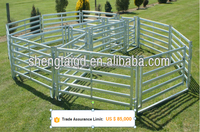 New type stainless steel metal horse/cow/goat/dog/chicken fence panel