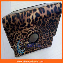 2012 hot sale,luxury Leopard Grain case for ipad , Paypal accepted
