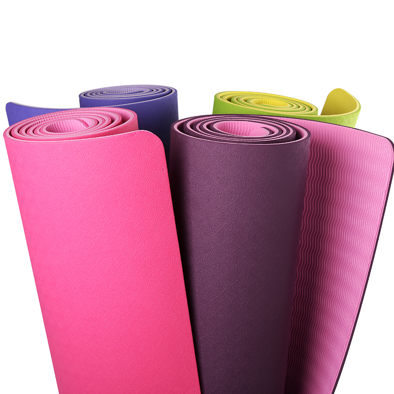 Customized TPE Yoga mat for adults