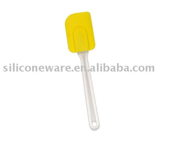 Silicone Spatulas with clear Handle Yellow good cook silicone spatula Novelty Cooking