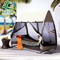 Wholesale price outdoor hammock hanging bed with canopy