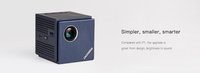 2017 DOOGEE Cube P1 Smart Mini LED Projector for iphone IOS7.0 Android 4.2 Smartphone