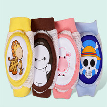 Baby Crawling Knee Pads - Breathable Elastic Safety Protector for 6-12 month Toddlers, Infants, Kids