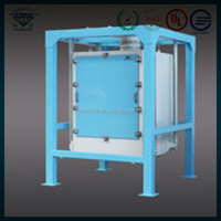 Low price rice mill machine single bin plansifter for flour sieving machine in india with pices for sale