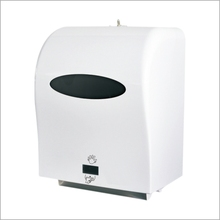 Comparable Prices Industrial Electric Hand Free Large Paper Roll Paper Dispenser White Color