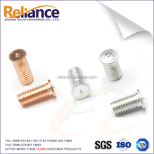 CD Welding Stud Used Stainless Steel Material Copper Weld Screw