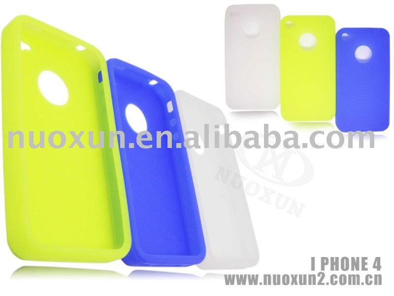 For iPhone 4G Silicone case