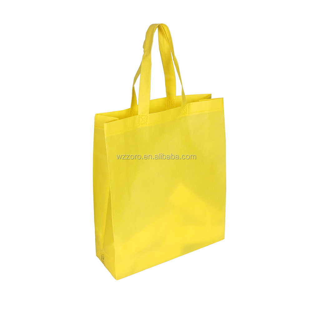 2016 new eco-friendly pp shopping nonwoven bag