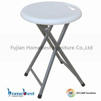 Manufacture Professional Supply Plastic Folding Stool with Safely Lock