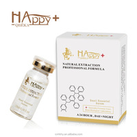 Most natural & potent Ingredients available Happy+ QBEKA protein peptide serum snail serum