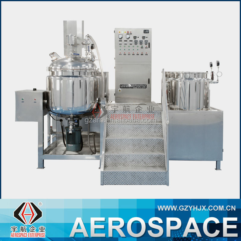 YHRHJ Factory Price Body Lotion Making Homogenizer Machine