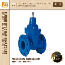 din standard soft seal rising stem gate valve