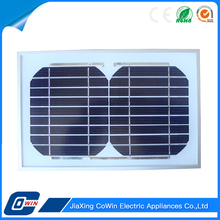 TUV Approved Cheap Price 5W Monocrystalline Solar Panel