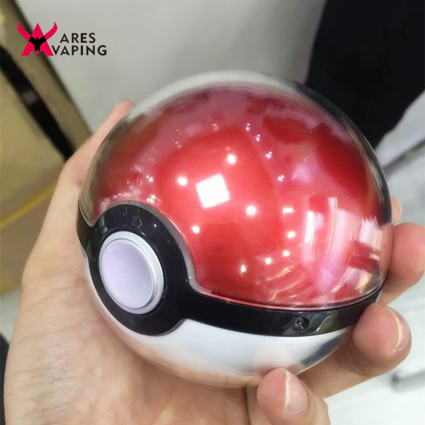 2016 New Products Pokemon Go Power Bank 12000mAh Poke Ball Charger aresvaping Christmas gift pokemon go round ball power bank
