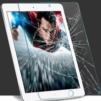 9h explosion-proof tempered glass screen protector for tablet PC or ipad mini 1 2 3 4