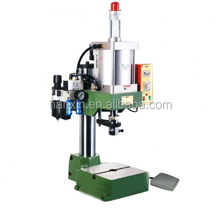 Vertical Pneumatic Fiber Jointer Crimpping Machine for Fiber Optic Patch Cords