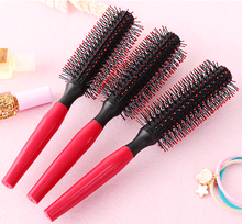 Fashion Lady Hairdressing Roller Straight Combs Plastic Hair Comb