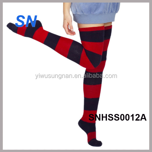 fashion fleece lined Christmas socks