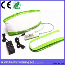 electric vibrating stomach waist belly exercise shaper slimming belt vibrator
