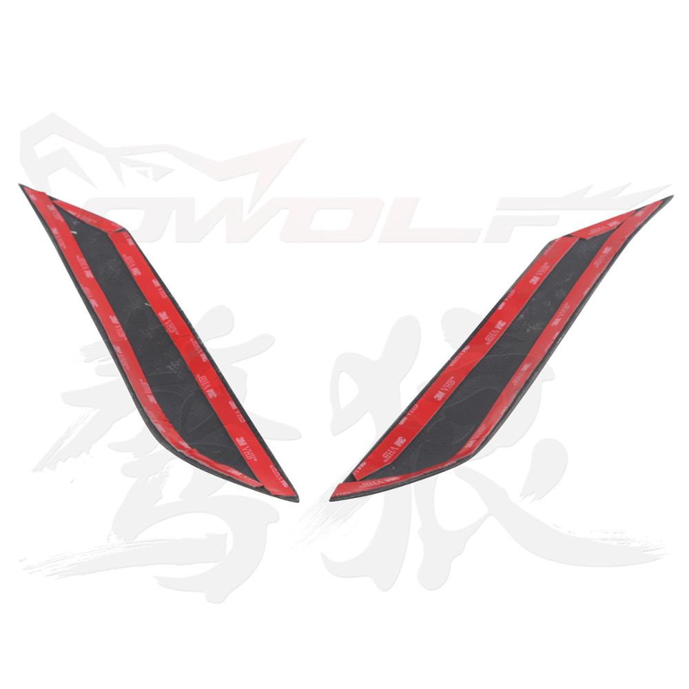 Fiber Glass Headlight Cover Eyebrow Eyelid for T OYOTA MARK X REIZ 2004-2009