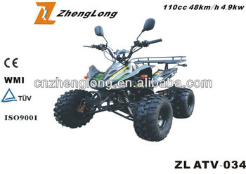 New model Kawasaki 125CC quad ATV With EPA