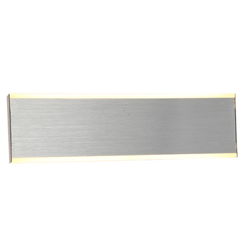 Silver LED Corridor Wall Sconce Modern Wall Light for Hotel Bathrooms
