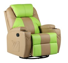 Multi-function heated 8 point massage recliner BRC-312