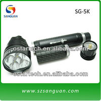 portable longlife CREE torch flashlight high brightness rechargeable lantern