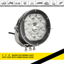 Led driving light, off road 4X4 7inch 90w led driving light for auto accessories