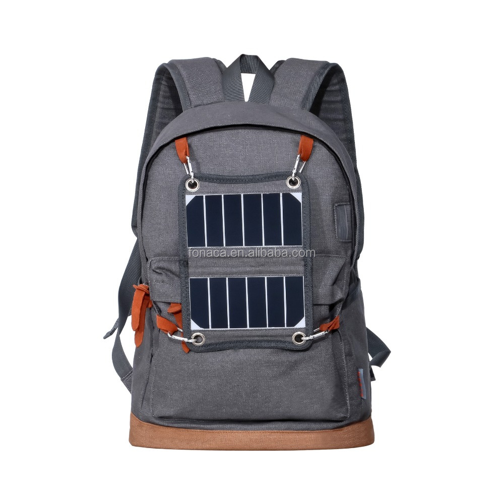 Solar Charger Sports Backpack, Backpack with Solar panel