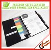 PVC Coated Color Notebook with Printed Logo
