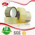 Yellowwish Clear Carton Sealing BOPP Self Adhesive Tape