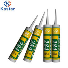280ML cartridge package clear siliconized acrylic adhesive