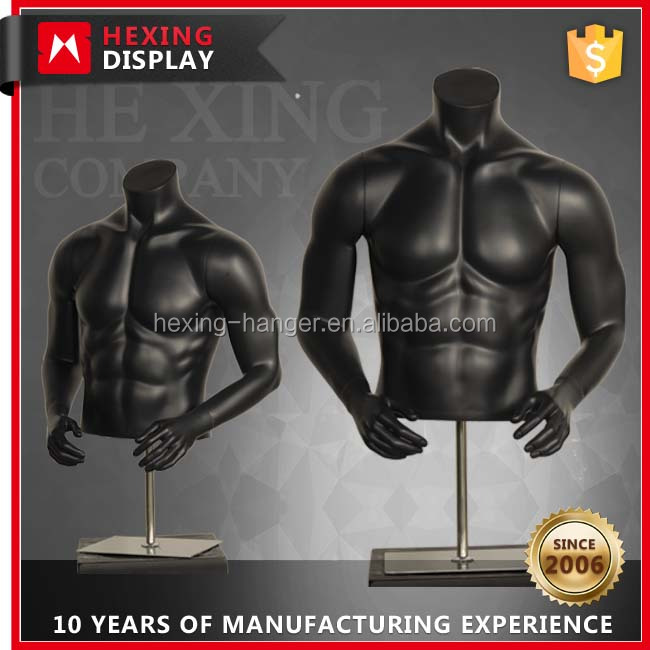 Upper Body Cheap Muscled Male Torso Mannequin
