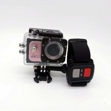 IP68 waterproof night vision sport action cam 2.0 xdv remote control wifi hd 4k 30FPS 1080P 60fps action camera