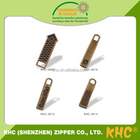 Hot China Products Wholesale Zipper Pulls For Garment