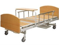 BAM208Two Crank Wooden Home Care Beds For Patient Care