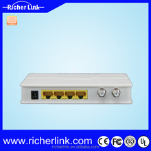 ANS5004 Four self-adaptive 10/100M RJ45 port eoc slave wifi eoc master eoc slave for home network