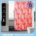 double swag shower curtain with valance