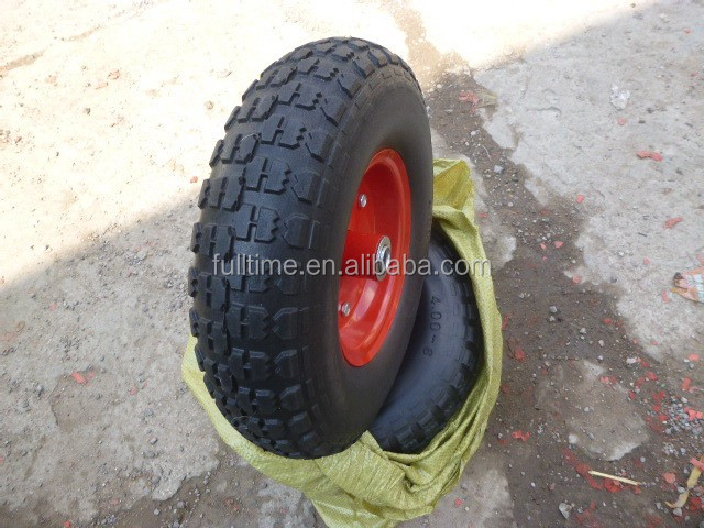 Manufacturer high quality heavy duty Flat Free PU foam wheel