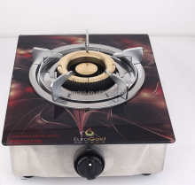 Tempered Glass Top Single Burner Gas Stove /Gas Hob/Gas Cooker
