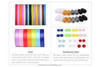 silicone rubber necklace cord fashion jewelry necklace