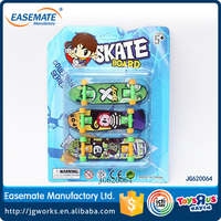 Plastic Skateboard Toy Finger Skate Board