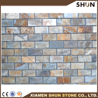 Natural Stone Colorful Slate Tiles For Wall/Floor Decoration With Factory Price