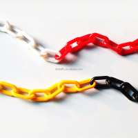 Good Quality and Low Price to Different Color Durable Plastic Link Chain