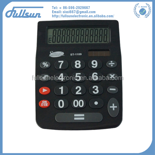 12 digit big key calculator FS-1109