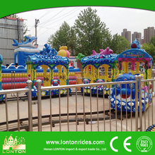 Outdoor Park Game Rides Electric Train Set For Adult Fairground Ride For Sale
